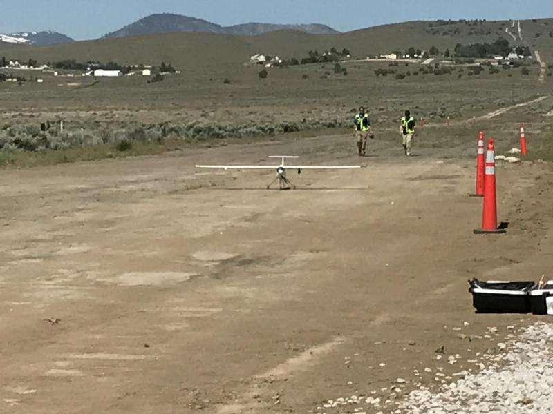 NASA drone traffic management tests take off in Reno