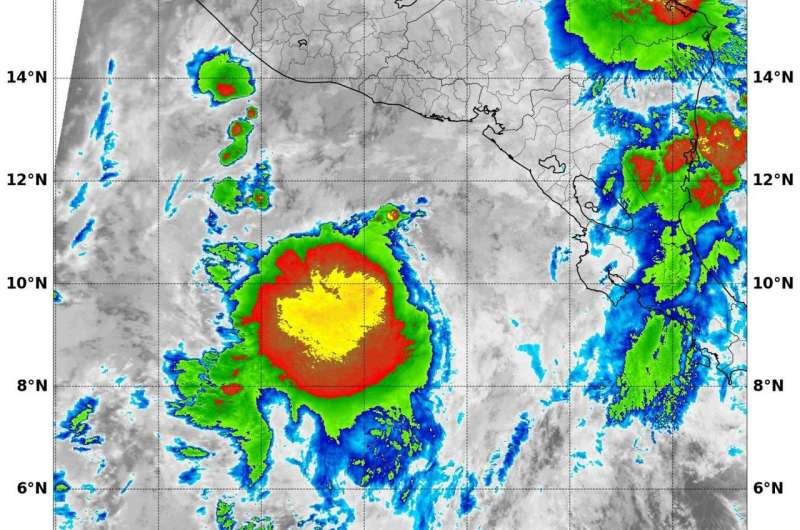 NASA finds new Tropical Storm Selma has heavy rain-making potential