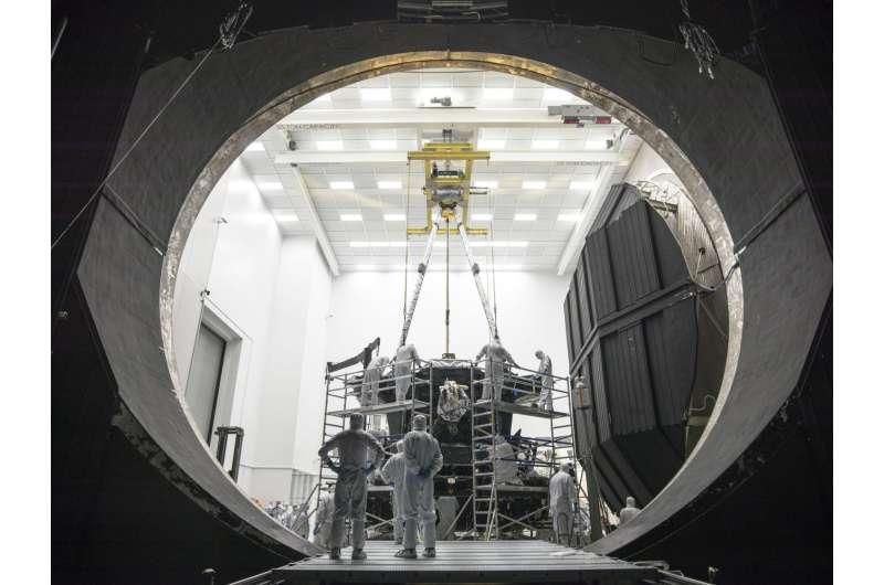 NASA's Apollo-era test chamber now James Webb Space Telescope ready