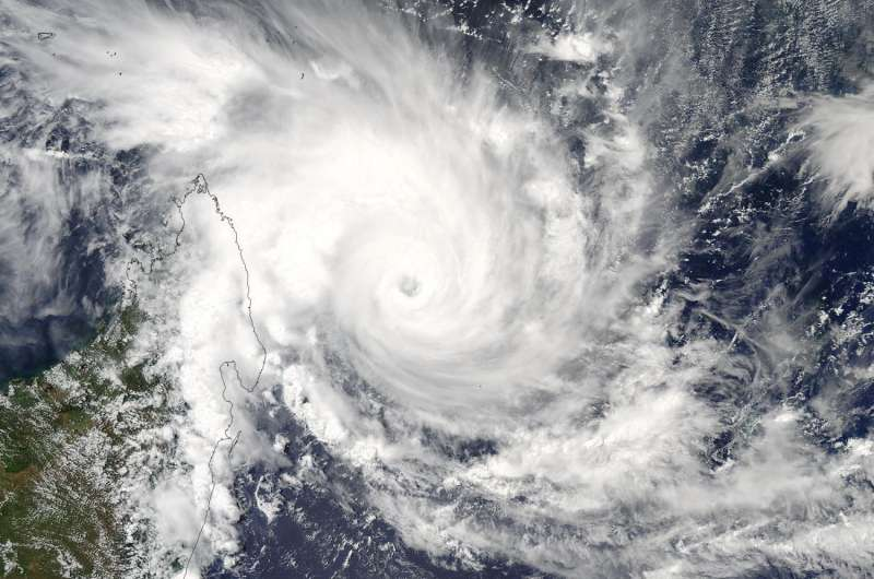 NASA sees powerful Tropical Cyclone Enawo threatening Madagascar