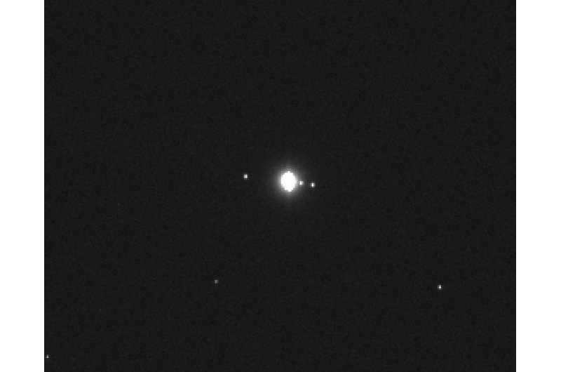 NASA's OSIRIS-REx takes its first image of Jupiter