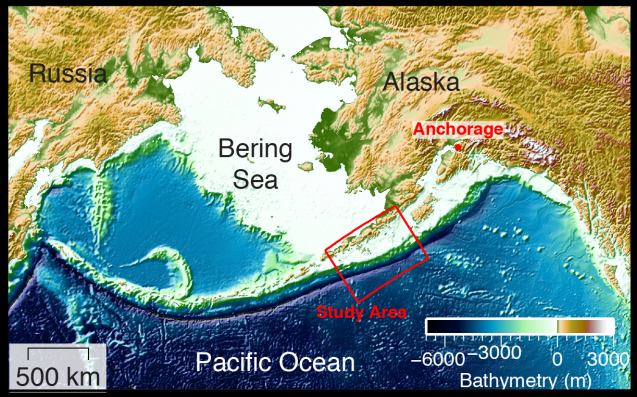 New images of Alaska sub-seafloor suggest high tsunami danger