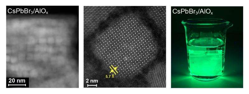 New method improves stability of perovskite quantum dots