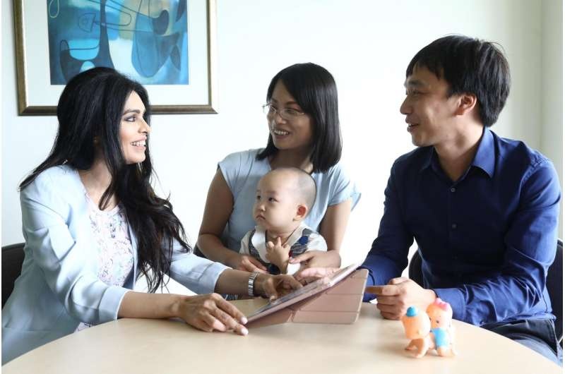 NUS researchers pilot 'Home-but-not Alone' app to help new parents