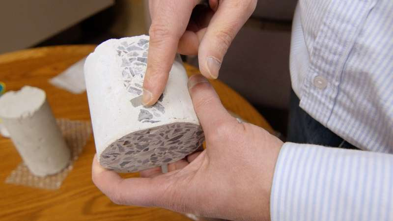 Rutgers develops eco-friendly concrete