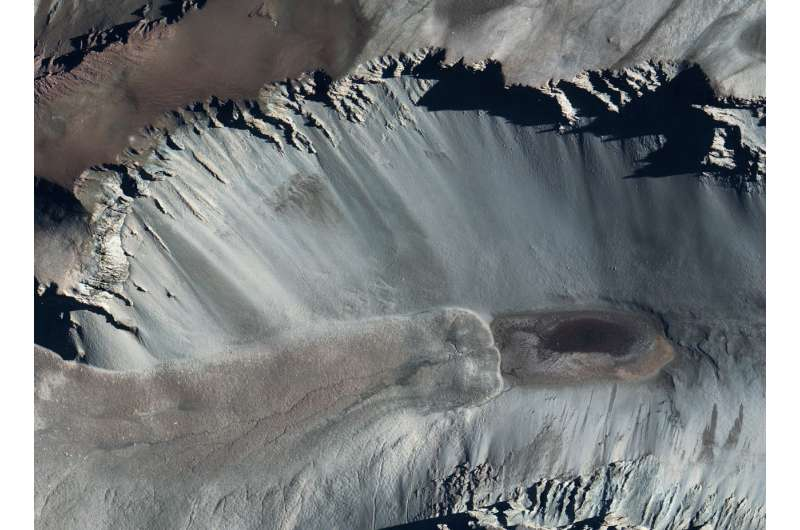 Salt pond in Antarctica, among the saltiest waters on Earth, is fed from beneath