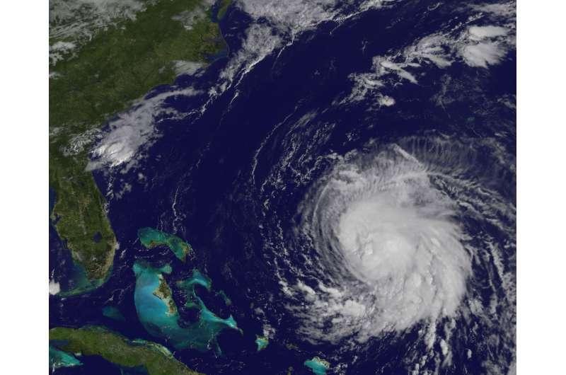 Satellite eyeing Tropical Storm Jose churning coastal waters