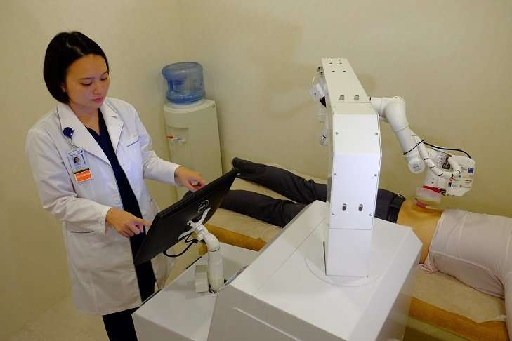 Singapore's first robot masseuse 'EMMA' starts work