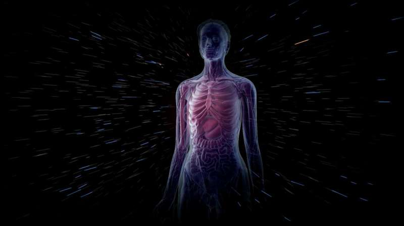Space radiation is risky business for the human body