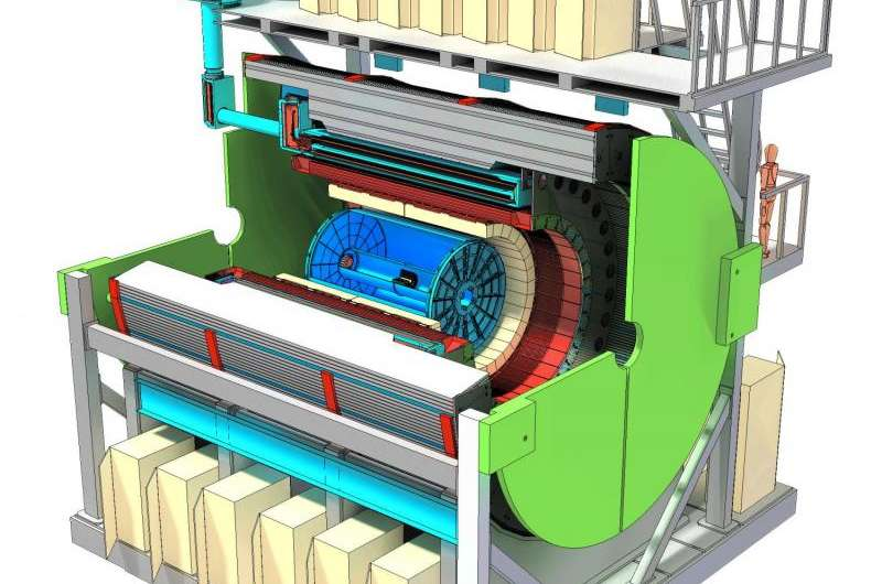 sPHENIX Gets CD0 for Upgrade to Experiment Tracking the Building Blocks of Matter