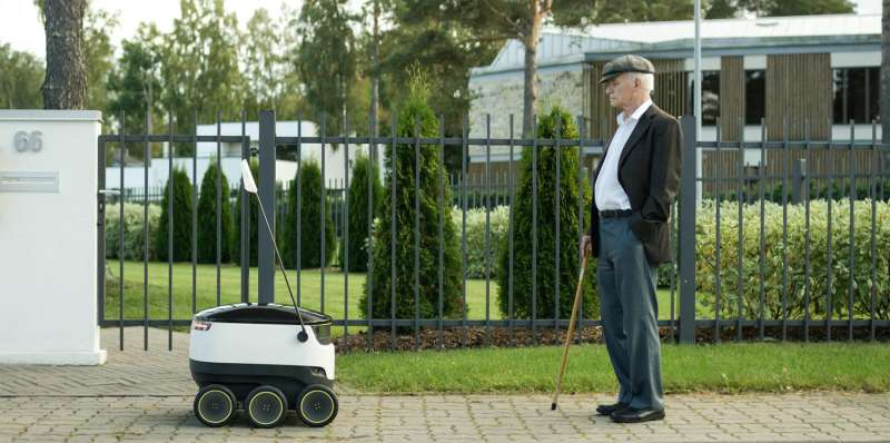Starship Technologies draws attention with ground-based robot delivery solution