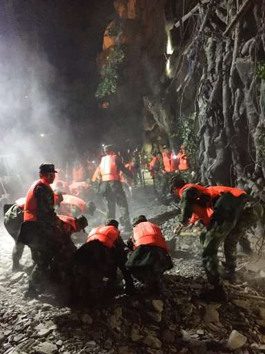 Strong quake strikes southwest China, 13 dead, 175 injured