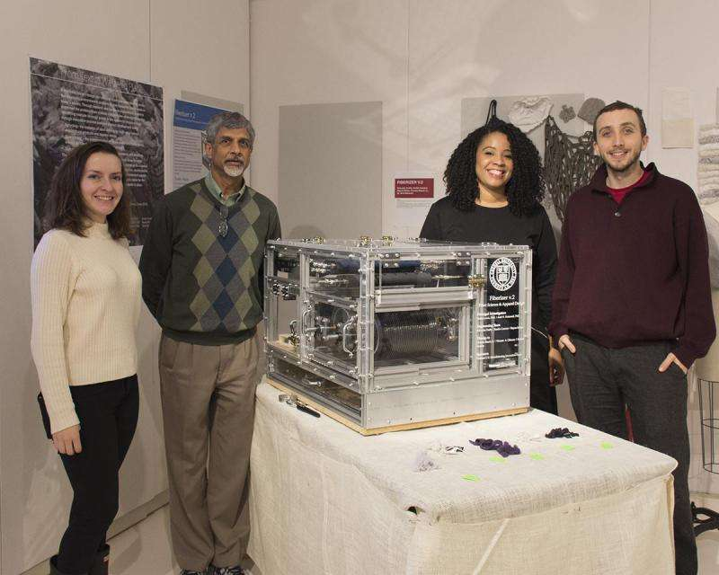 Team develops machine with aim of ending textile waste
