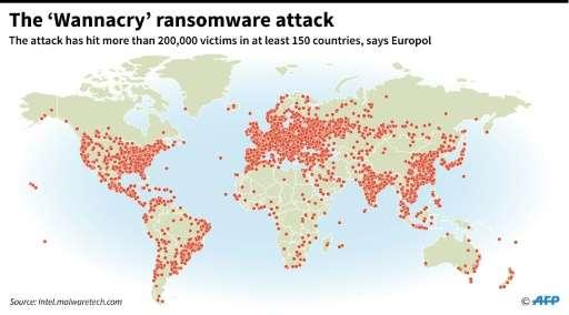 The 'Wannacry' ransomware attack