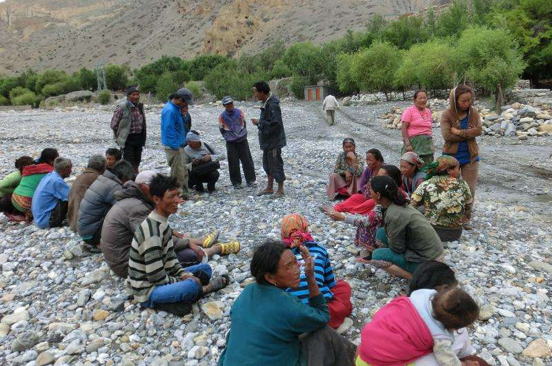 Trans-Himalayan land of Upper Mustang in Nepal may face serious food insecurity
