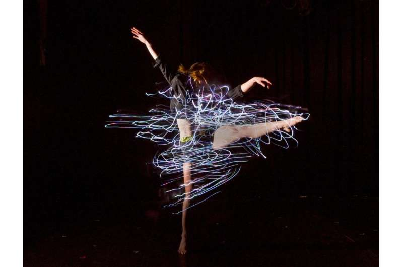 Video: Lightbulb moment leads to wearable technology for performance dance