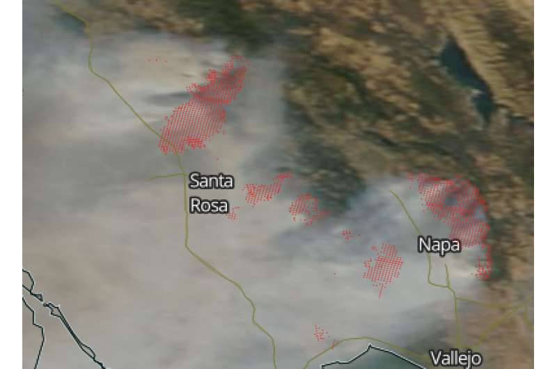 Wildfires in California not slowing down