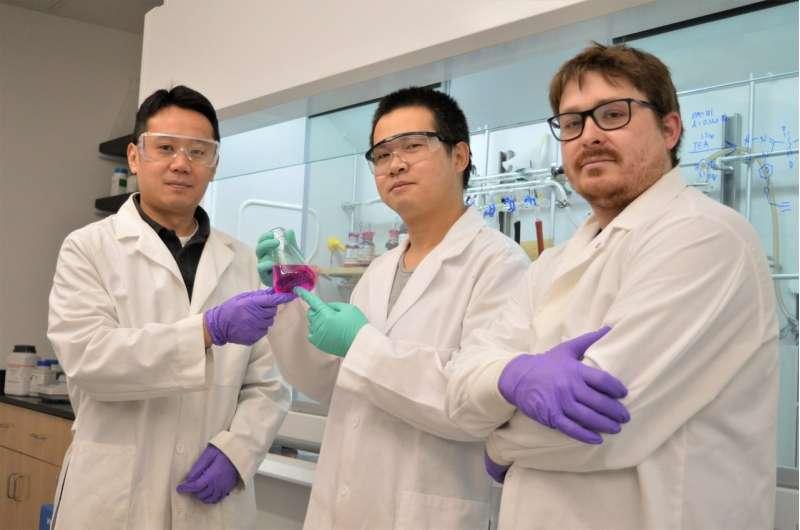 WSU chemists develop novel Washington Red dye for bio-imaging