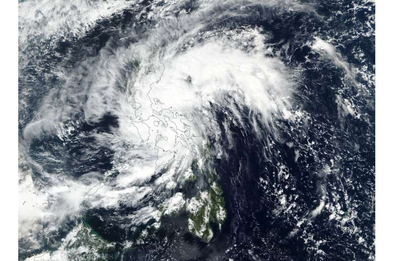 NASA-NOAA's Suomi NPP sees Tropical Depression Haikui form