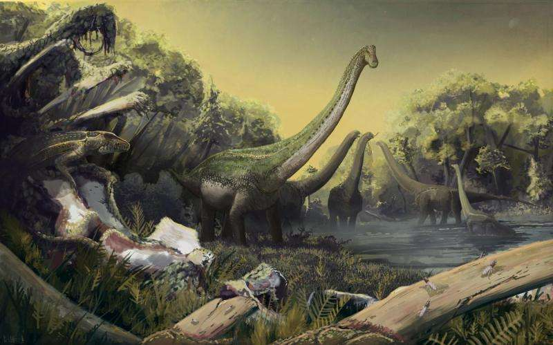 Paleontologists discover new species of sauropod dinosaur in Tanzania