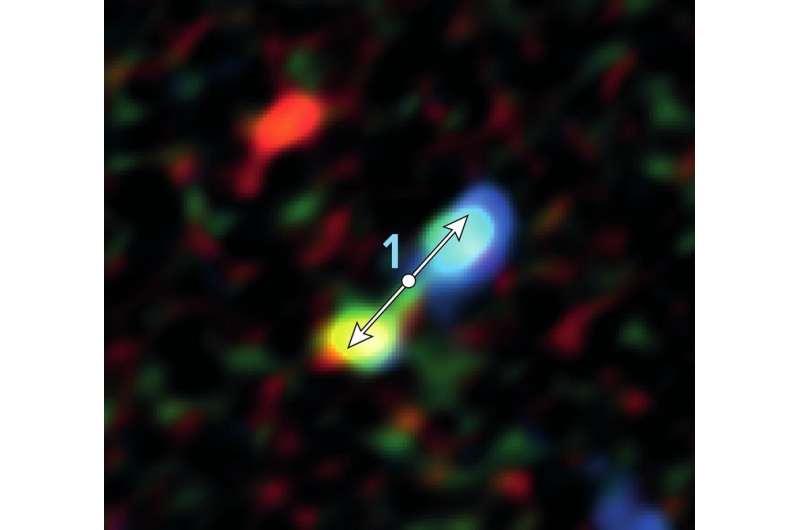 ALMA discovers infant stars surprisingly near galaxy's supermassive black hole