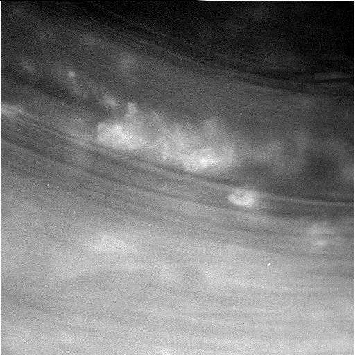 Cassini spacecraft dives between Saturn and its rings