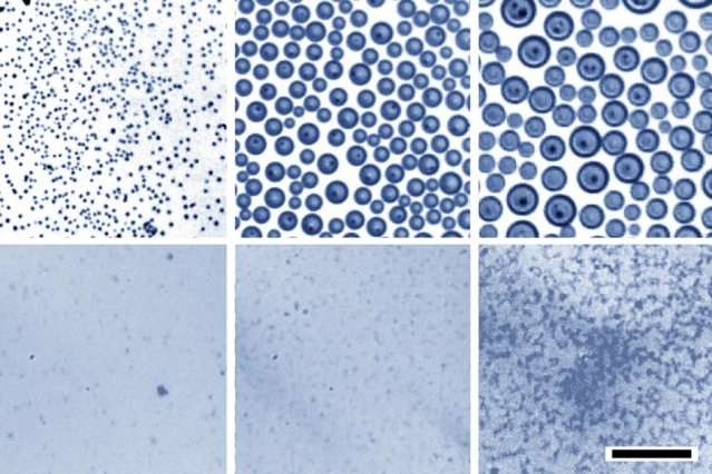 Condensation-based method could create stable nanoscale emulsions