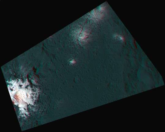 Cryovolcanism on dwarf planet Ceres