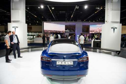 Electric cars will hog the spotlight at this year's IAA motor show in Frankfurt, but Silicon Valley giant Tesla will be conspicu