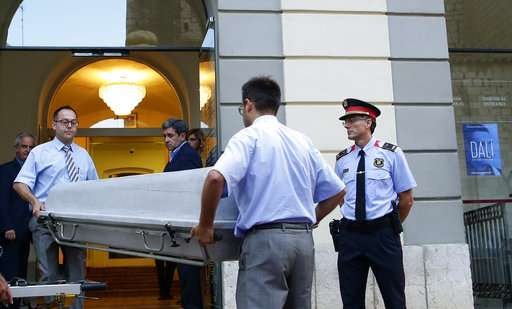 Exhumation of Dali's remains finds his mustache still intact