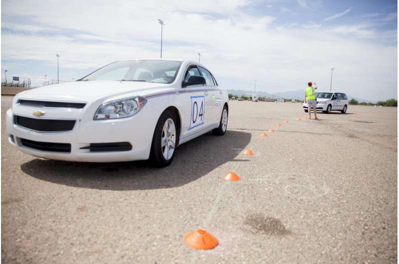 Experiments show that a few self-driving cars can dramatically improve traffic flow