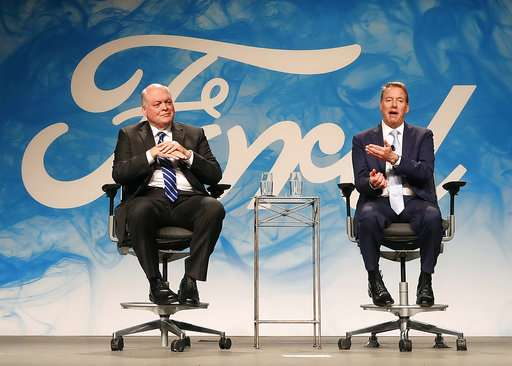 Ford's changes at the top aimed at faster decision-making