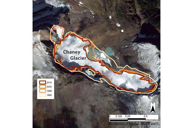 Glaciers rapidly shrinking and disappearing: 50 years of glacier change in Montana