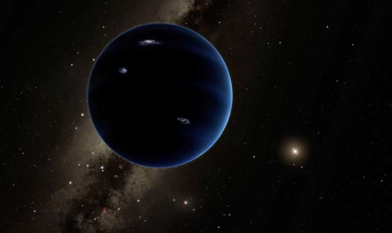 In search of the ninth planet