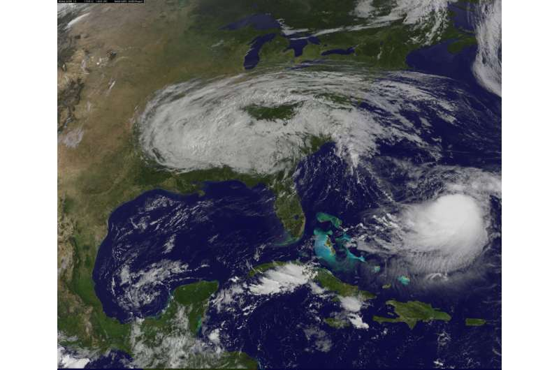 Irma's heavy rainfall measured by NASA's IMERG