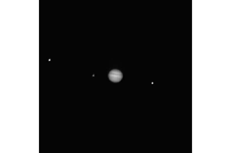 NASA's OSIRIS-REx takes closer image of Jupiter
