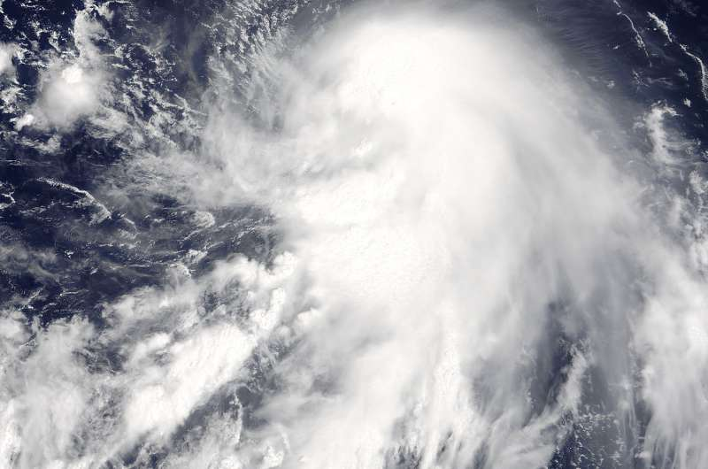 NASA tracking Tropical Storm Talim in Philippine Sea