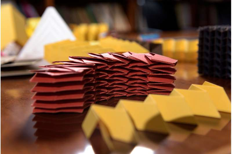 New software speeds origami structure designs
