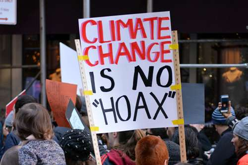 Professors reflect on the issue of climate change in Trump's administration