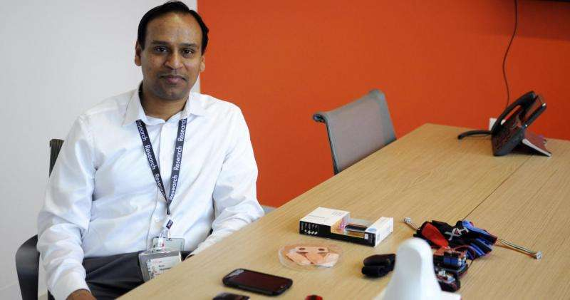 Scientists use wearables to track patient data