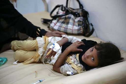 UN: Cholera outbreak in Yemen has spread and over 1,600 dead