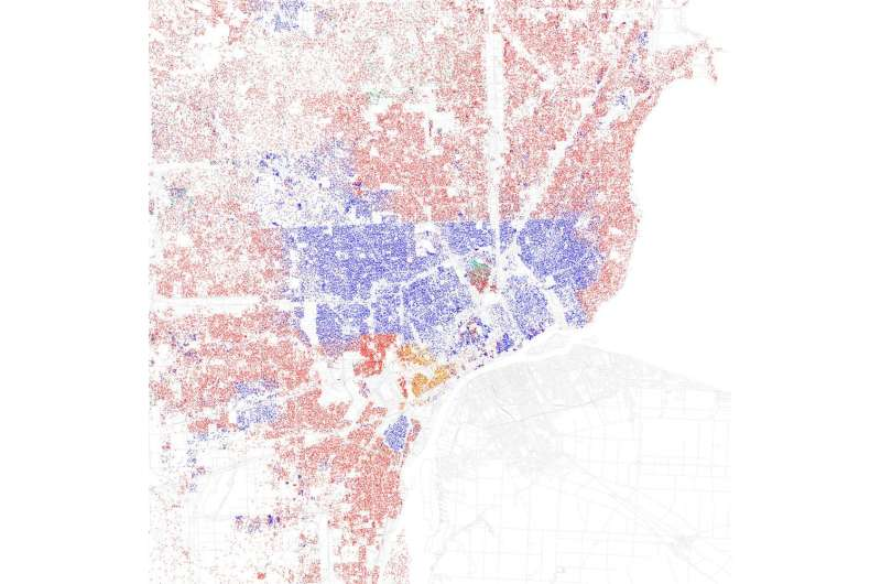 Urban noise pollution is worst in poor and minority neighborhoods and segregated cities