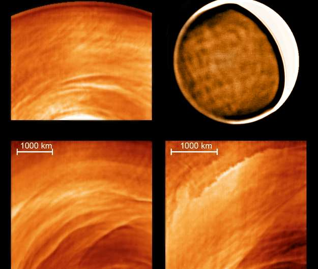 Venus' mysterious night side revealed
