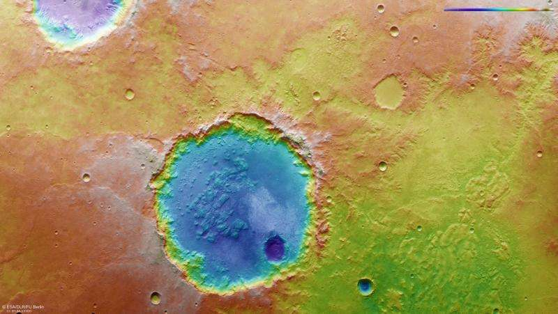 Window to a watery past on Mars