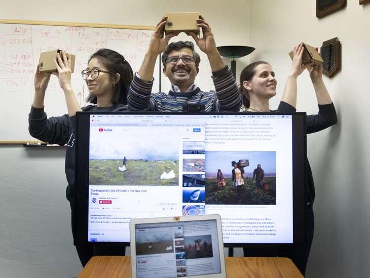 Virtual reality makes journalism immersive, realism makes it credible