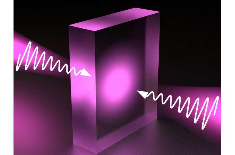 Scientists make transparent materials absorb light