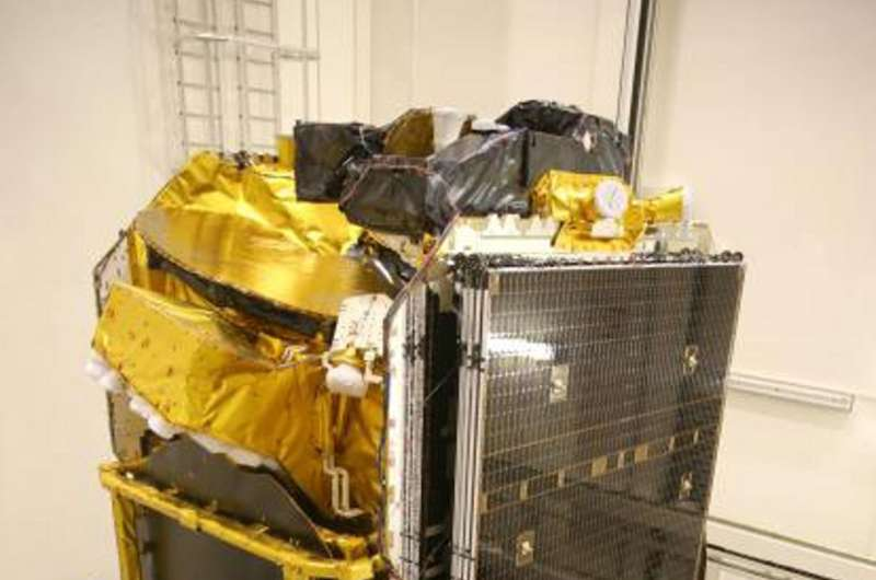 Europe's first all-electric telecom satellite
