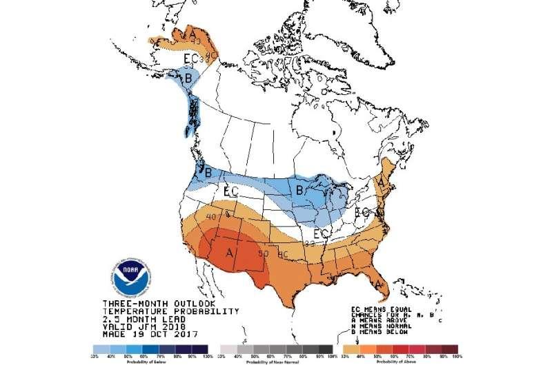 How will La Niña affect winter in the U.S.?
