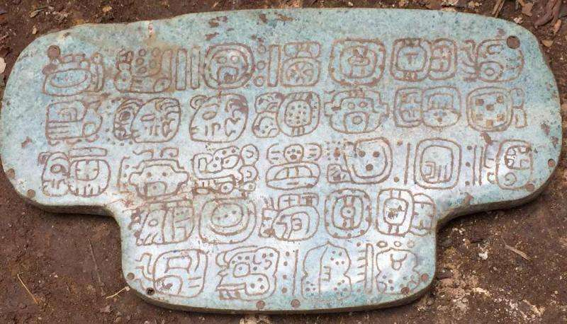Second largest Maya jade found in Belize has unique historical inscription