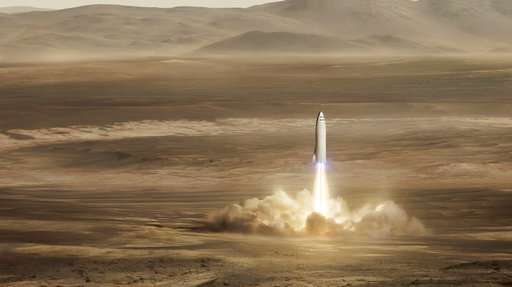 SpaceX: Rocket for moon, Mars and NY-to-Shanghai in 39 mins